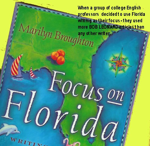 Florida English textbook featuring works of M. C. Bob Leonard